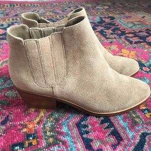 NEW Joie Barlow Tan Booties Size 37 (US 7)